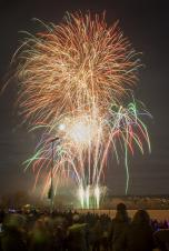 Daventry Town Fireworks 2017 - A Roaring Success