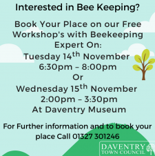 Free Beekeeping Workshops