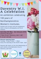 Daventry Museum - Celebrating 100 years of the WI in Northamptonshire