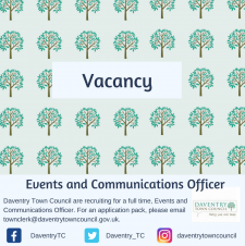 Vacancy: Events and Communications Officer