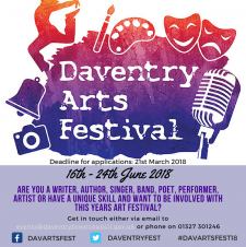 Daventry Town Arts Festival 2018