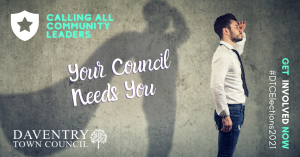 Interested in becoming a Daventry Town Councillor?
