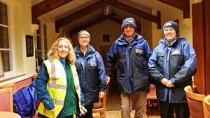 Daventry Mayor volunteers with Street Pastors