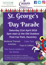 St George's Day arrives in Daventry