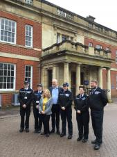 Daventry Town Council sponsors Police Community Support Officer for Daventry Town centre