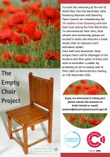 WWI Centenary Exhibition & The Empty Chair Project