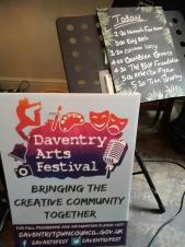 Daventry Arts Festival off to a flying start
