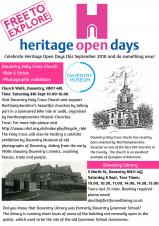 Celebrate Heritage Open Days with Daventry Museum