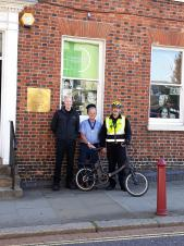 Daventry Town Ranger is set to cycle up a storm