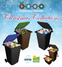 NEWS: Waste and recycling collections for Christmas and New Year