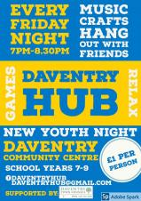 Daventry Hub – the new youth club for young people