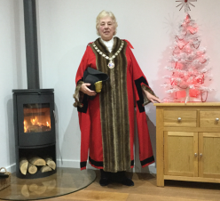 A Christmas Message from the Mayor of Daventry