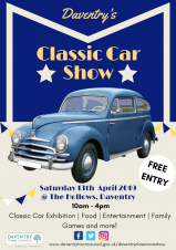 Enthusiasts celebrate at Daventry's First Classic Car Show