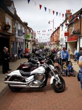 Motorcycle Festival returns to Daventry Town