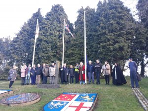 DTC raises the Commonwealth Flag in Celebration