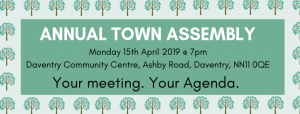Daventry's Annual Town Assembly