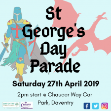 St. George's Day Parade returns to Daventry Town