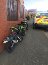Community safety focus leads to seizure of nuisance bikes
