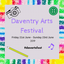 Discover Daventry's creative side at this year's Arts Festival