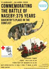 Battle of Naseby Exhibition at Daventry Museum: Starts Saturday 11th January 2020