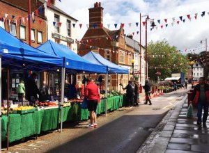 Daventry Market - Re-opening Success