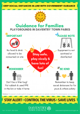 Daventry Town Council to Open Play Areas - 4th July 2020