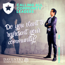 Do You Want To Represent Your Community?