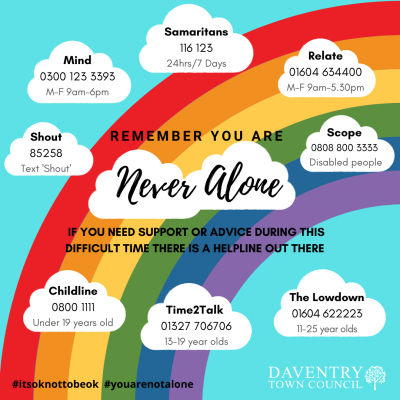 You are never alone on a Rainbow
