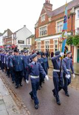 Bumper Attendances for Daventry Town Fireworks and Remembrance Day