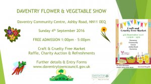 Daventry Flower and Vegetable Show 2016