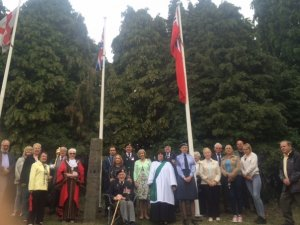Daventry Commemorates Merchant Navy Day