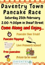 Pancake Day Celebrations