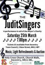 JuditSingers Perform in aid of Mayor's Charity