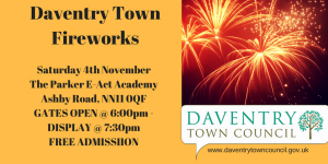 Daventry Town Fireworks Display