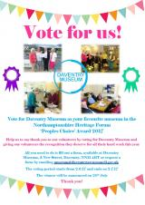 Daventry Museum Needs Your Vote